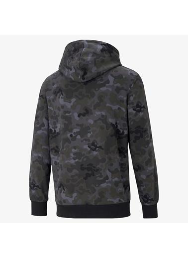 Puma Erkek Siyah Classics Graphics Sweatshirt 530207.001 Siyah